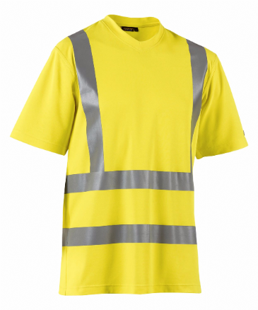 Blaklader 3380 High Visibility T-Shirt (Yellow)